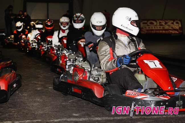 Moscow indoor karting championship