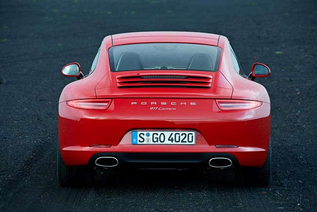 Porsche red dot award