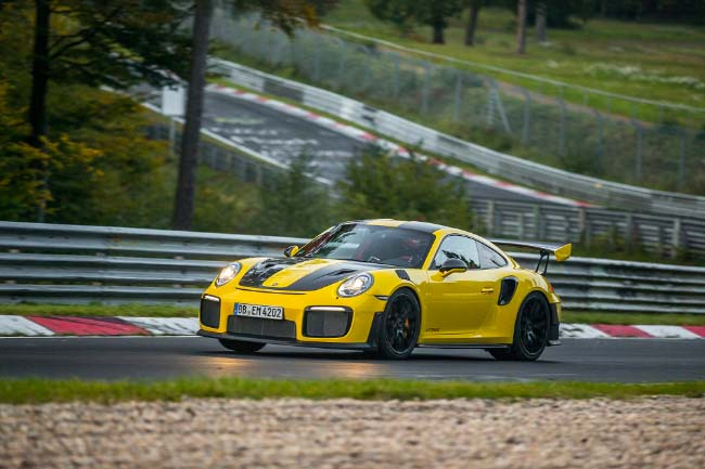 Michelin Porsche GT2 RS