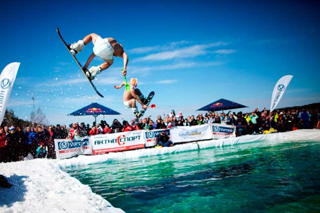 Red Bull Jump аnd Freeze