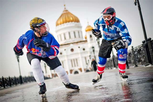 Red Bull Crashed Ice в Москве