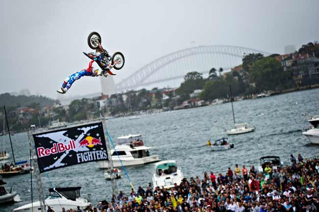 Леви Шервуд Red Bull X-Fighters