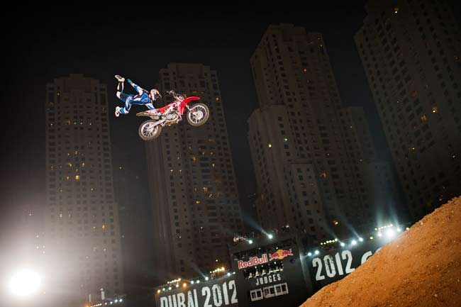 Red Bull X-Fighters Дубаи